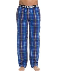 Joe Boxer - Printed Cotton Pants - Lyst
