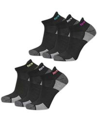 New Balance - Six Pack Performance Tab Socks Set - Lyst
