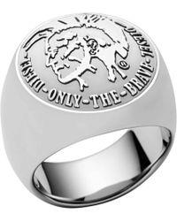 DIESEL - Heren Ring Dx0693040 - Lyst