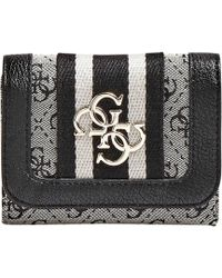 Guess - Portemonnee Vintage Slg Small Trifold - Lyst