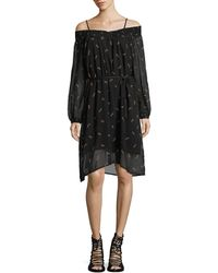 MO&CO. EDITION10 - Printed Open Shoulder Dress - Lyst