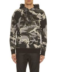 Armani Exchange - Camouflage Hoodie - Lyst
