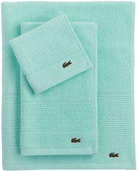 Lacoste - Supima Hand Towel - Lyst