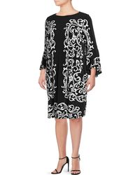 INC International Concepts | Plus Plus Mirror Bell-sleeve Dress | Lyst