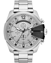DIESEL - Heren Horloge Mega Chief Dz4501 - Lyst