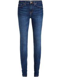 Tommy Hilfiger - Skinny Jeans Met Fading - Lyst