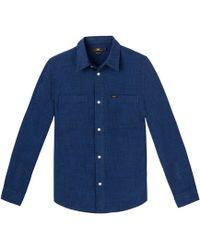 Lee Jeans - Worker Overhemd - Lyst