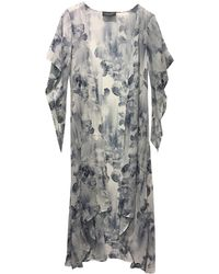 Laundry by Shelli Segal | Photographic Floral Maxi Cardigan | Lyst