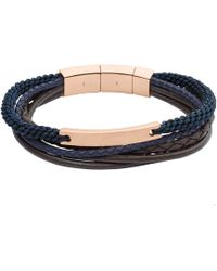 Fossil - Vintage Casual Heren Armband Jf02379791 - Lyst