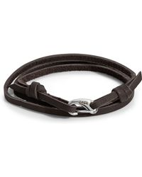 John Zack - Wrap-around Leather Bracelet - Lyst