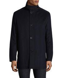 BOSS Green - C-coxtan Wool-cashmere Coat - Lyst