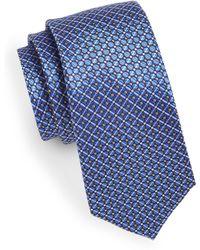 Geoffrey Beene - Jacquard Circle Silk-blend Tie - Lyst