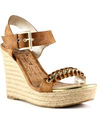 G by Guess - Elliot Platform Wedges - Lyst