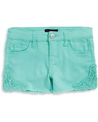Material Girl - Crochet Trim Shorts - Lyst