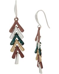 Robert Lee Morris - Sculptural Stick Linear Earrings - Lyst