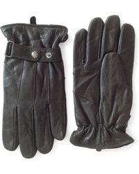 London Fog - Thinsulate Leather Gloves - Lyst