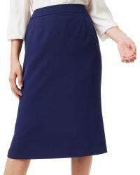 Precis Petite | Aria Pleat Detail Pencil Skirt | Lyst