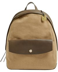 Skagen - Aften Leather-accented Backpack - Lyst