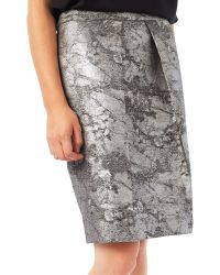 Precis Petite | By Jeff Banks Metallic Jacquard Skirt | Lyst