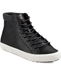 Hudson North - Evon Hi-top Sneakers - Lyst