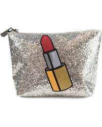 Circus by Sam Edelman - Carley Glitter Cosmetic Bag - Lyst