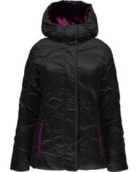 Spyder - Geared Hoody Quilted Jacket - Lyst