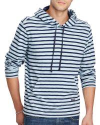 Denim & Supply Ralph Lauren - Striped Jersey Hoodie - Lyst