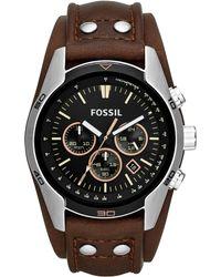 Fossil - Coachman Heren Horloge Ch2891 - Lyst