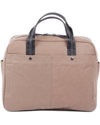 Bugatti - Lino Large Zip Business Bag - Lyst