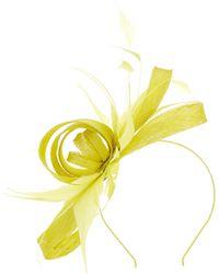 Precis Petite - Chartreuse Bow Fascinator - Lyst