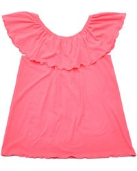 5preview - Frill Rolled-edge Top - Lyst