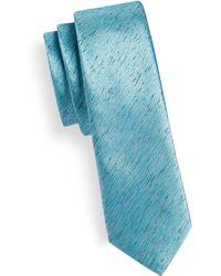 1670 - Slim Spacedye Tie - Lyst