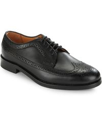 Polo Ralph Lauren - Moseley Leather Wingtip Brogue Shoes - Lyst