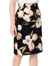 Precis Petite | Floral Printed Skirt | Lyst