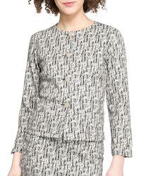 agnès b. - Abstract-print Jersey Jacket - Lyst