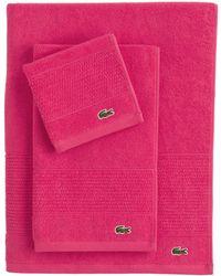 Lacoste - Legend Supima Cotton Bath Towel - Lyst