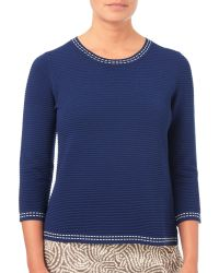 Eastex - Textured Sweater - Lyst