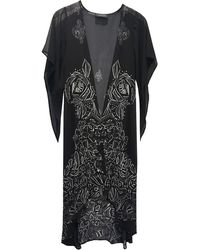 Laundry by Shelli Segal | Floral Graphic Maxi Cardigan | Lyst