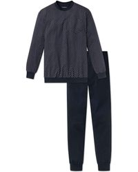 Schiesser - Dark Sapphire Pyjama - Lyst