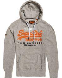 Superdry - Vintage Logo Hoodie - Lyst