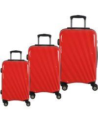 McBrine - Set Of Three Polycarbonate Suitcases 28 Inch - Lyst