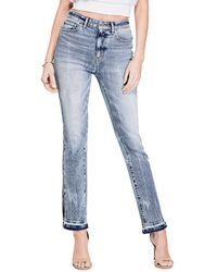 Guess | Authentic 1981 Slit Straight Jeans | Lyst