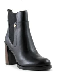 Tommy Hilfiger - Britton Moto Ankle Boots - Lyst