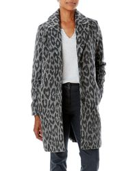 Olsen | Animal Print Coat | Lyst