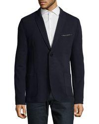 HUGO - Aprino Wool-blend Sport Jacket - Lyst