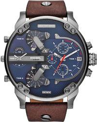 DIESEL - Mr. Daddy 2.0 Heren Horloge Dz7314 - Lyst