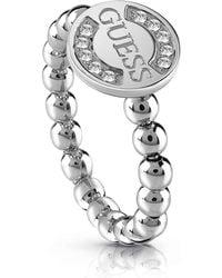Guess - Zilverkleurige Ring - Lyst