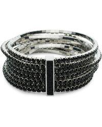 ABS By Allen Schwartz - Black Magic Stretch Bracelet Set - Lyst
