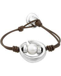 Uno De 50 - Oasis Silver Bracelet - Lyst