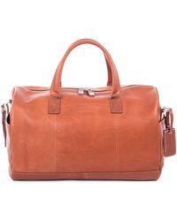 Bugatti - Sartoria Leather Sport Bag - Lyst
